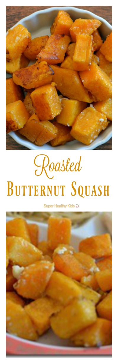 Easy Vegetables: Roasted Butternut Squash. You haven't enjoyed butternut squash fully, until you've tried it like this! www.superhealthykids.com/easy-vegetables-roasted-butternut-squash