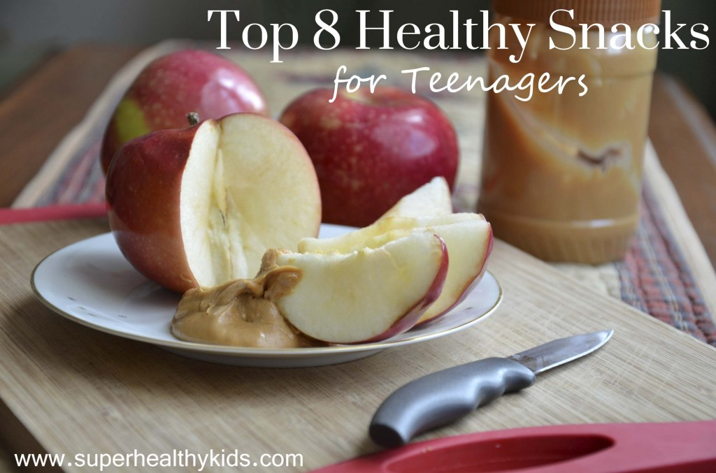 Top 8 Healthy Snacks for Teenagers. Teenager always hungry? Mine too! Here's our top 8 go-to snacks!