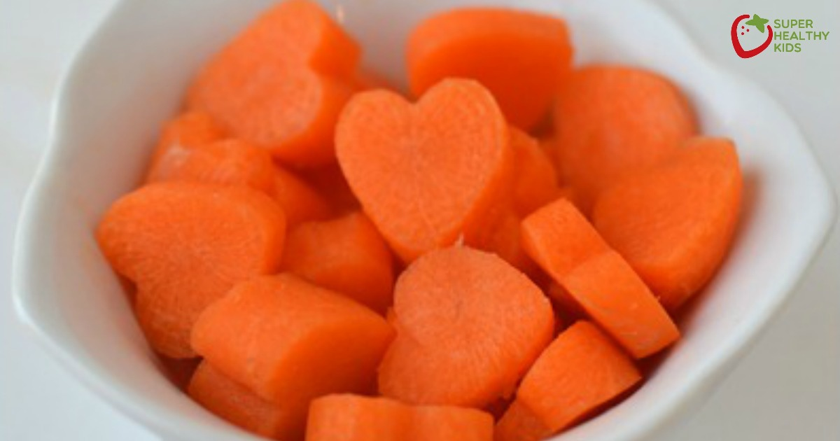New Meal Plan with Carrot Hearts | Healthy Ideas for Kids