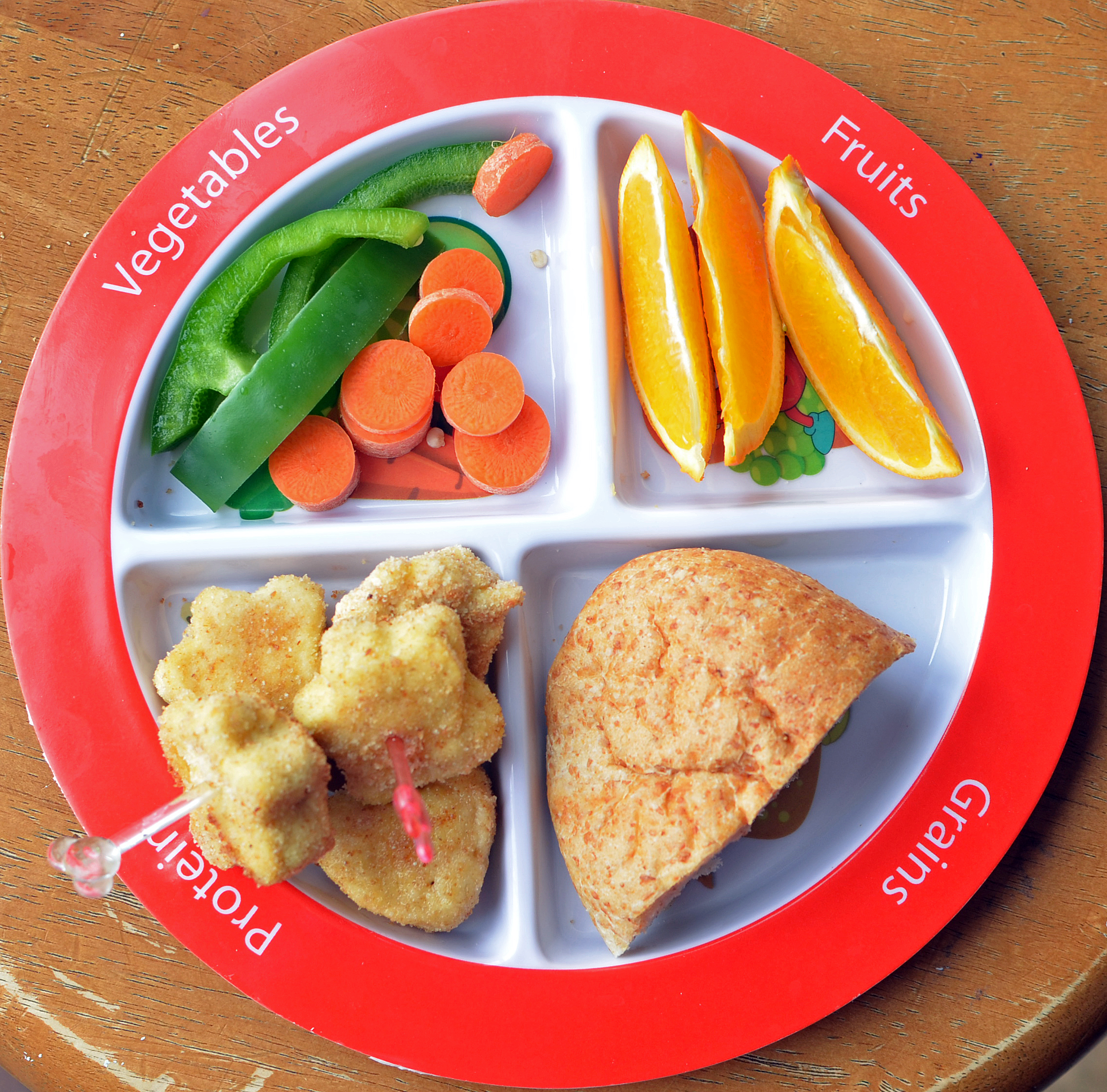 Guide to Toddler Portion Sizes. All kids are different and grow at different rates ... & Guide to Toddler Portion Sizes | Healthy Ideas for Kids