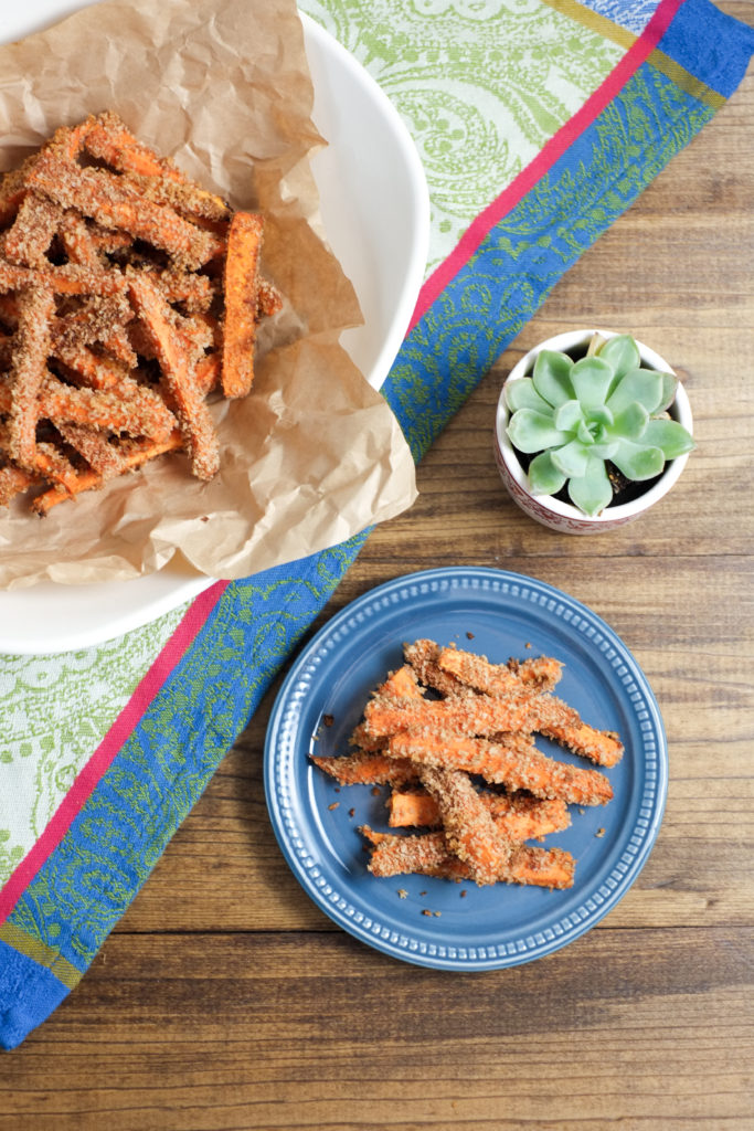 Cinnamon and Sugar Sweet Potato Fries | Super Healthy Kids | Food and Drink