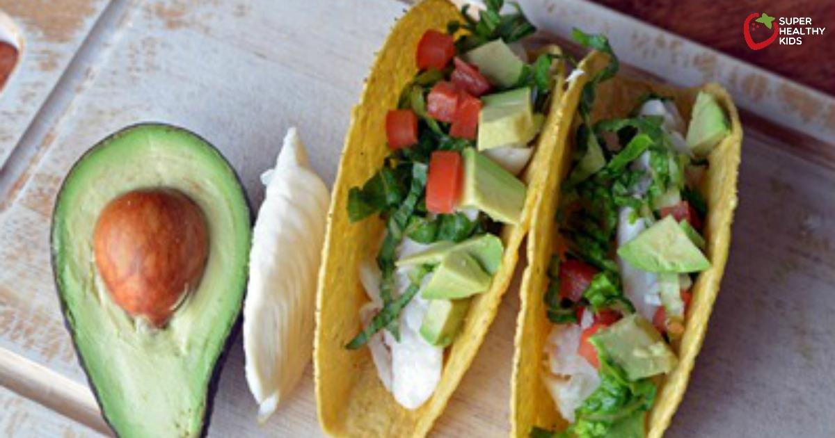 Fish And Avocado Taco Recipe Healthy Ideas For Kids