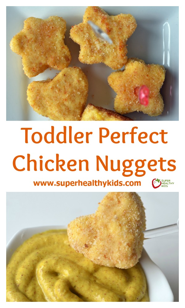 Toddler perfect chicken nuggets recipe healthy ideas for kids toddler perfect chicken nuggets recipe easy for toddlers to eat without choking on hunks of forumfinder Image collections