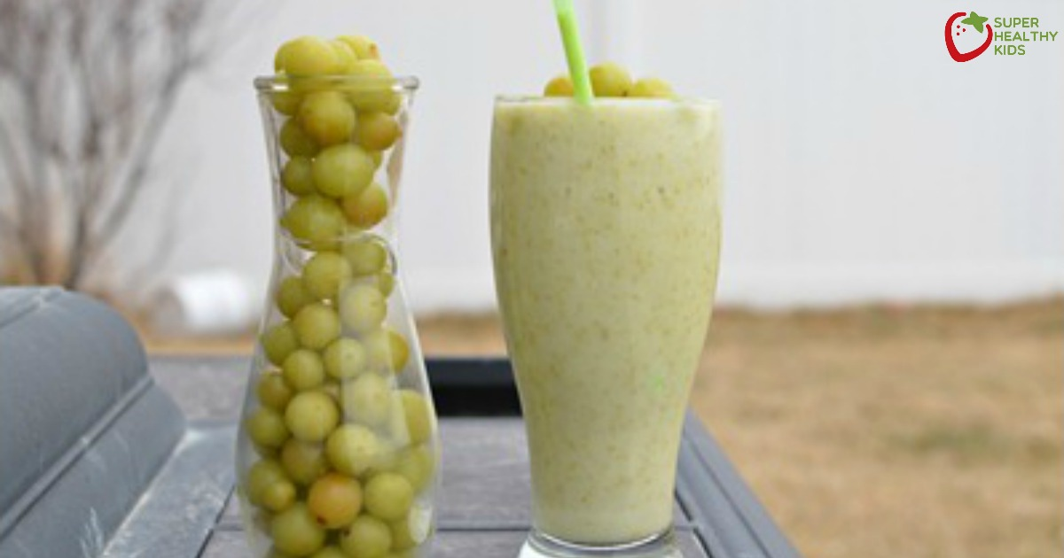 Sweet And Sour Grape Smoothie Healthy Ideas For Kids