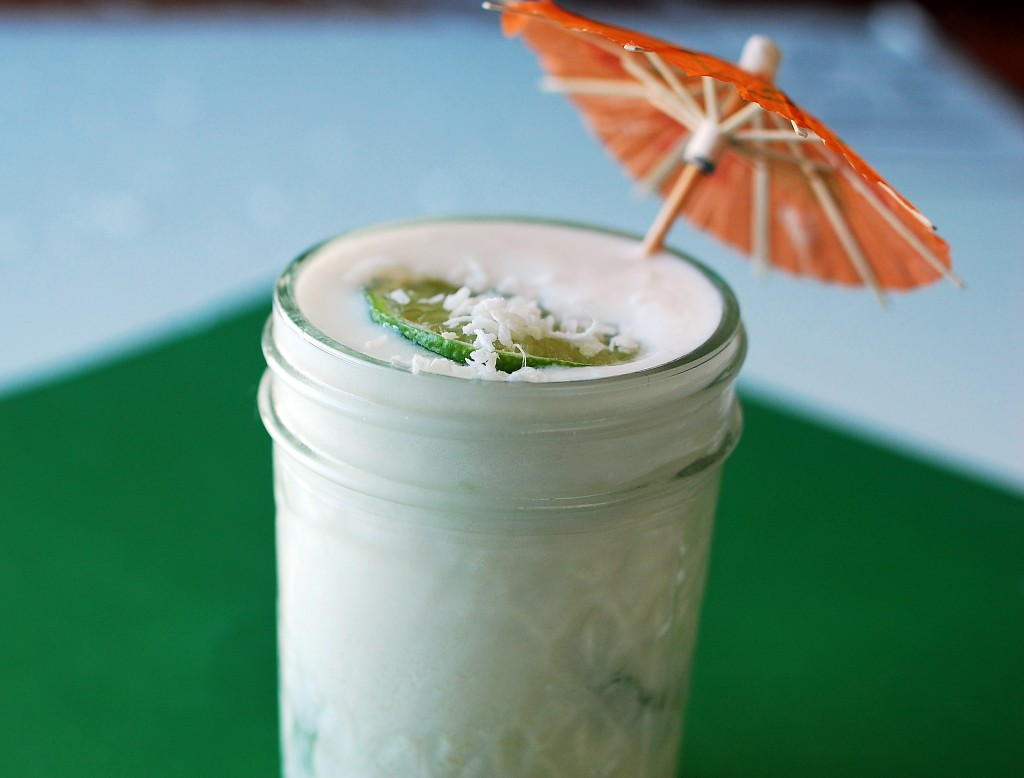 coconut lime smoothie2