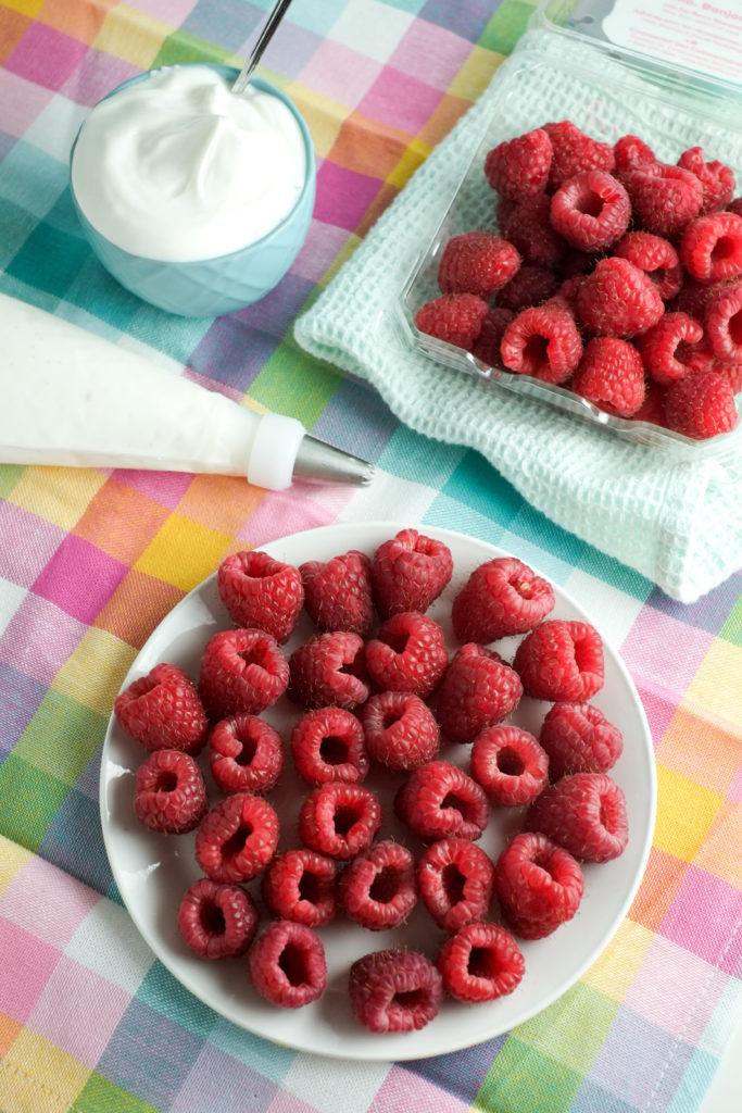 Frozen Yogurt Raspberries | Homemade Fruit Snack | Super Healthy Kids | Food and Drink