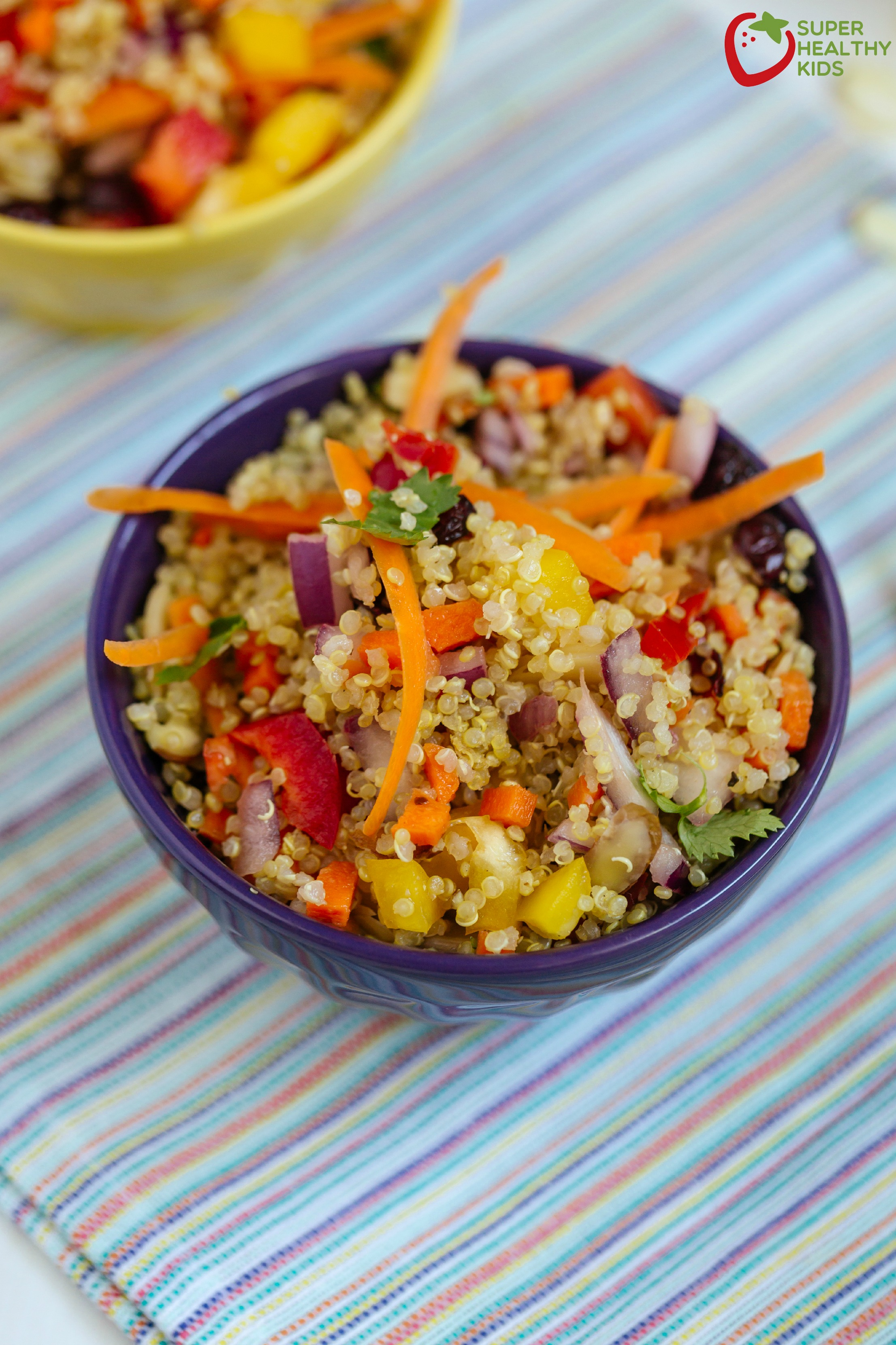 Summer quinoa salad recipe healthy ideas for kids summer quinoa salad fresh packed with nutrition and can be a main dish or sisterspd
