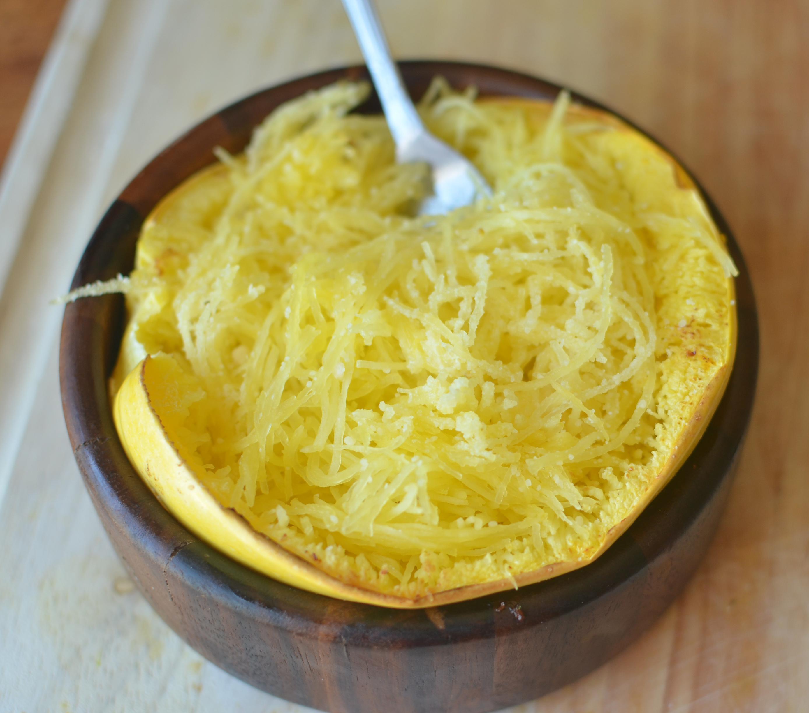 Super Simple Spaghetti Squash Recipe