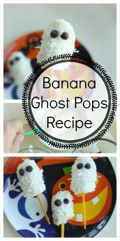 Banana Ghost Pops Recipe