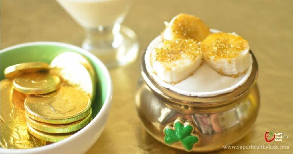 Pot of Golden Banana Pudding Recipe. No sugar added Banana Pudding!