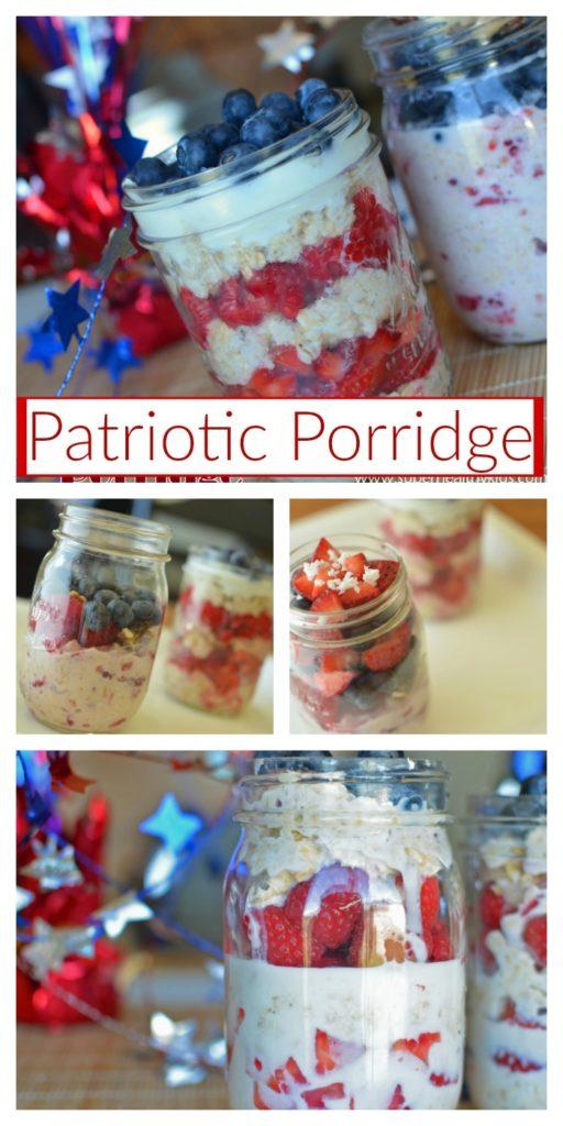 Overnight Patriotic Porridge Recipe