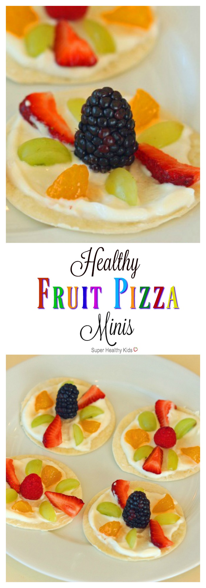 Healthy Fruit Pizza Minis Healthy Ideas For Kids