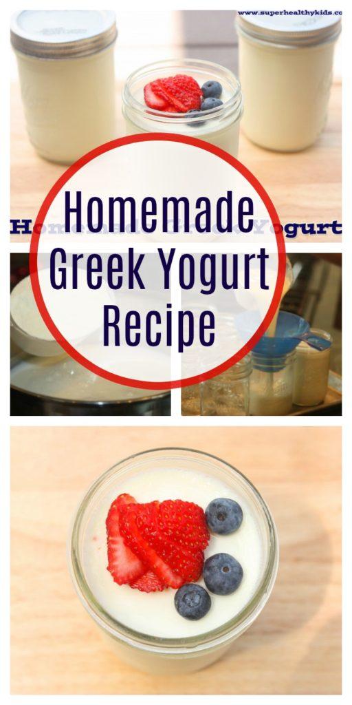 Homemade greek yogurt recipe healthy ideas for kids why is homemade greek yogurt better than store bought forumfinder Choice Image