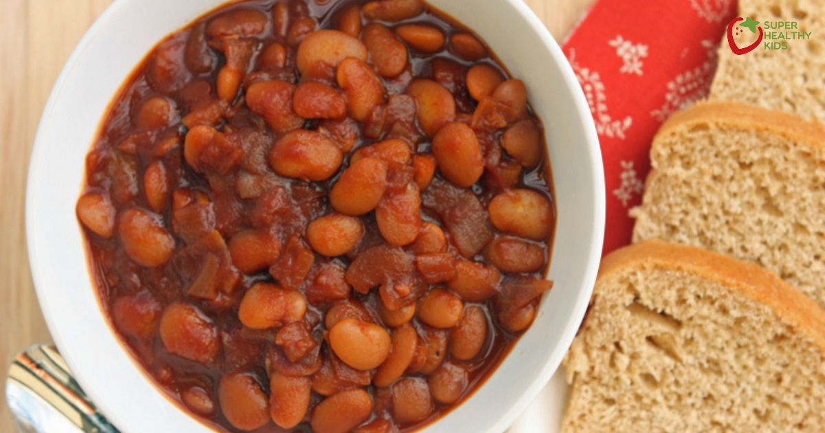 Slow Cooked Boston Baked Beans Recipe Healthy Ideas For Kids