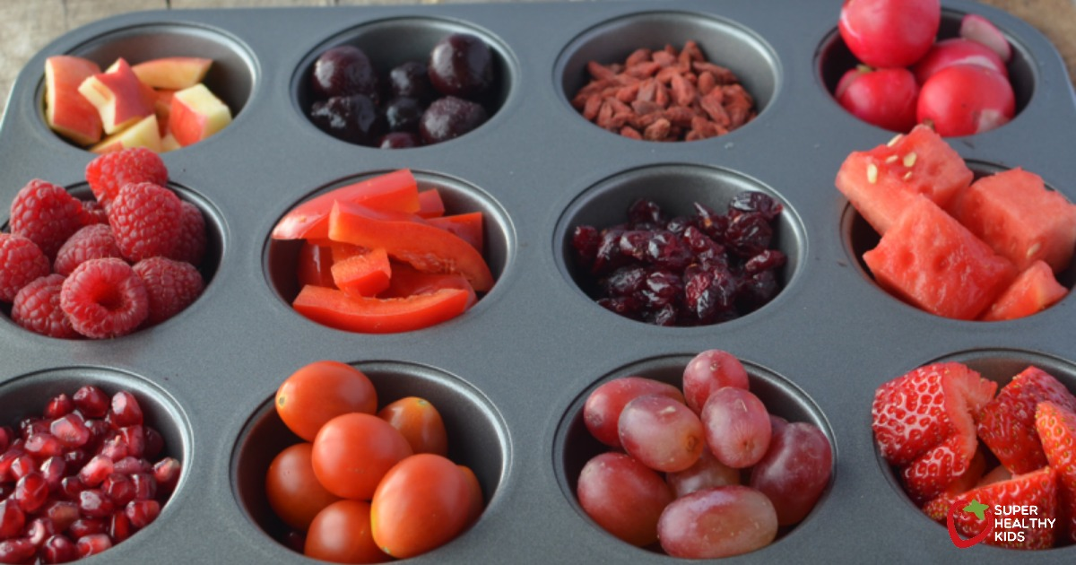 Healthy Red Snack Day Kids Buffet Healthy Ideas For Kids