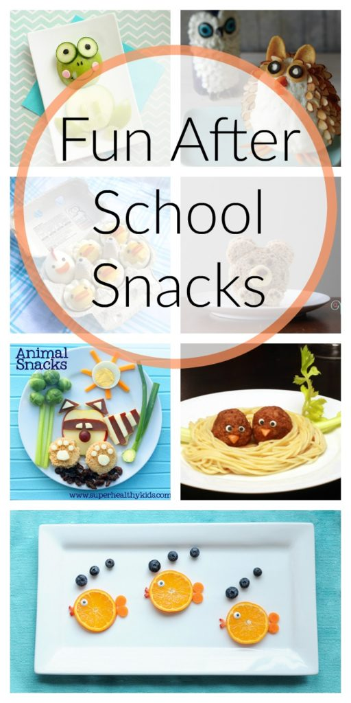 Fun After School Snacks