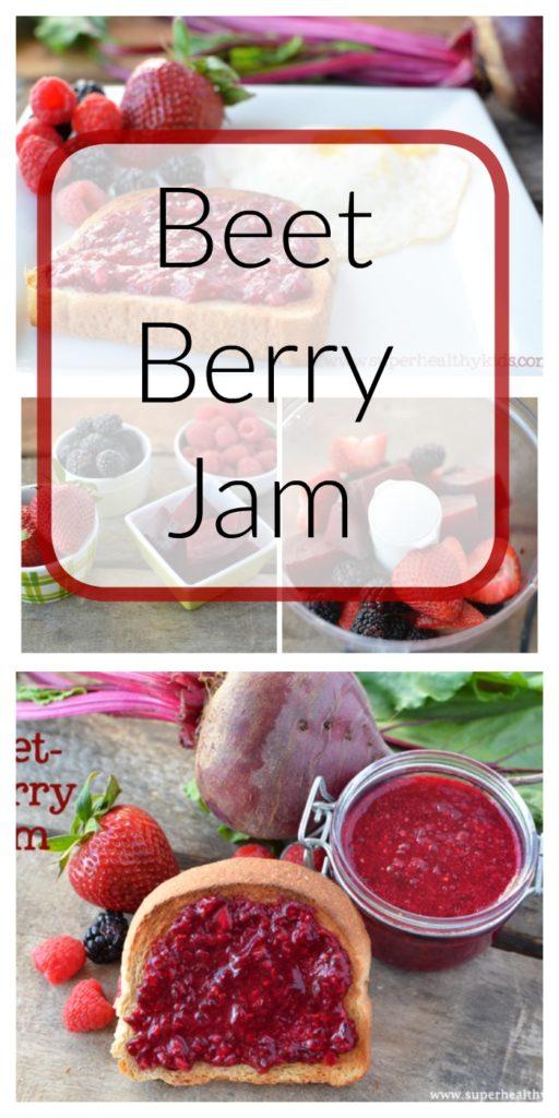 Beet Berry Jam