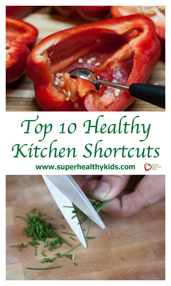 10 Kitchen And Home Decor Items Every 20 Something Needs: Top 10 Healthy Kitchen Shortcuts