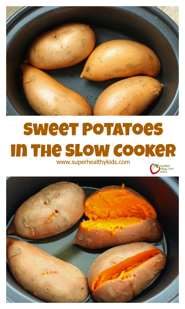 How Do I Cook Sweet Potatoes For Baby Food