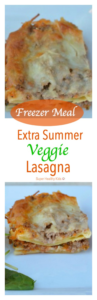 Freezer Meal Extra Summer Veggie Lasagna Lasagna Is Classic For Being Freezer Friendly