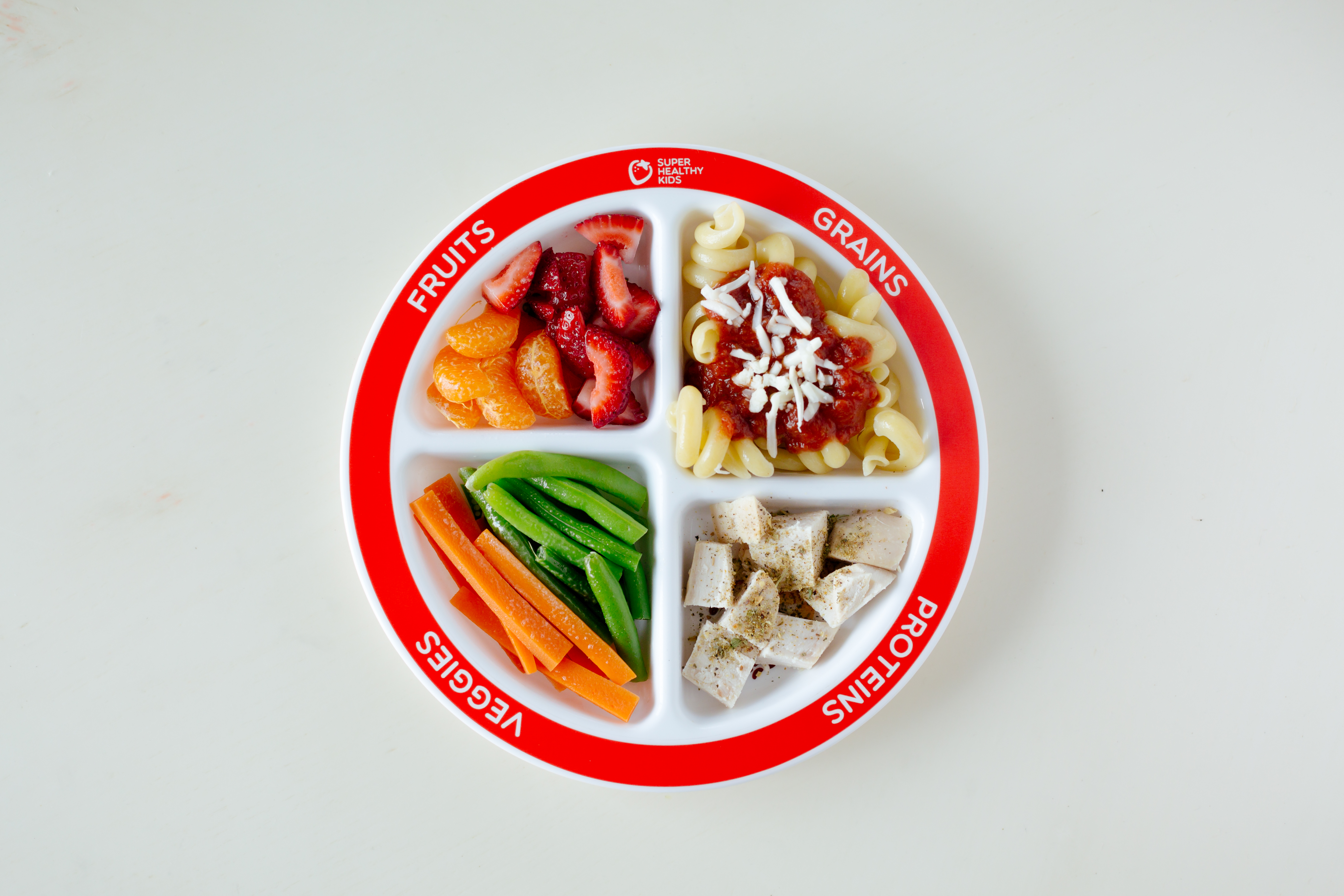 Kids MyPlate Section Plate | Super Healthy Kids for Dinner Plate With Food 35fsj & 34+ Great Dinner Plate With