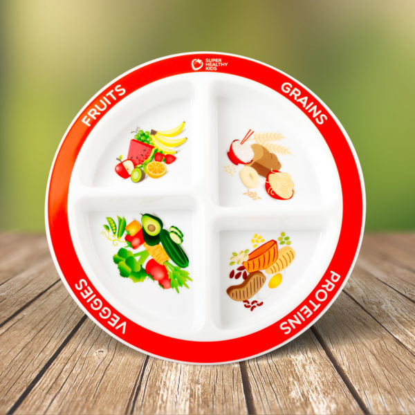 MyPlate Divided Kids Plate