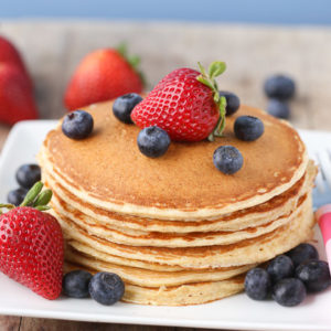 Cottage Cheese Protein Pancakes for Kids