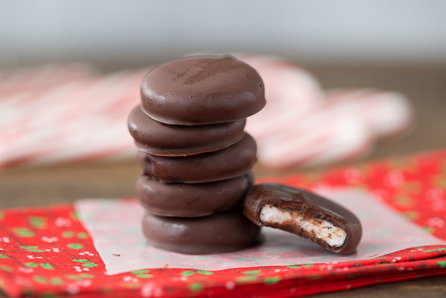 Healthy Homemade Peppermint Patties
