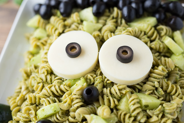 Easy Frankenstein Pasta
