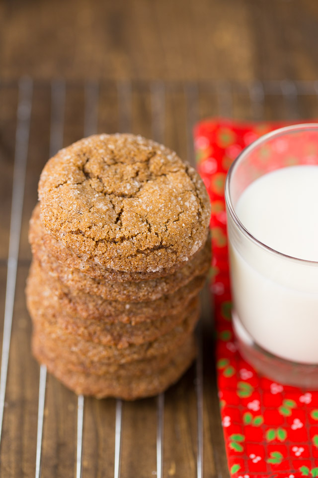 Ginger Snap Cookies for Christmas
