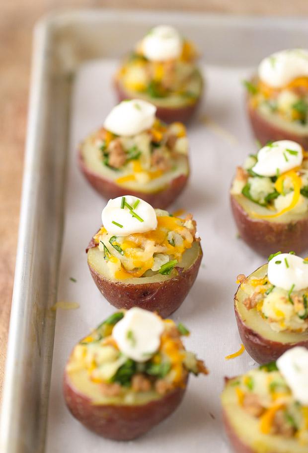Healthy Irish Potato Bites