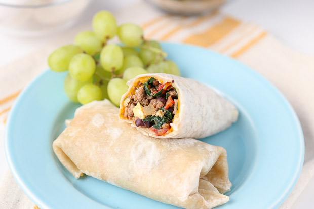 Protein Packed Breakfast Burritos for the whole family