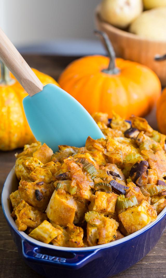 Side dish perfection Pumpkin Stuffing