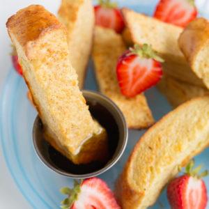 Freezable French Toast Sticks