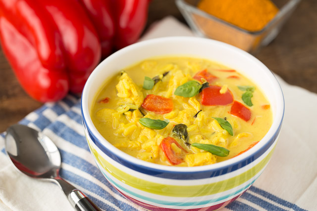 Immune-Boosting Chicken Turmeric Soup