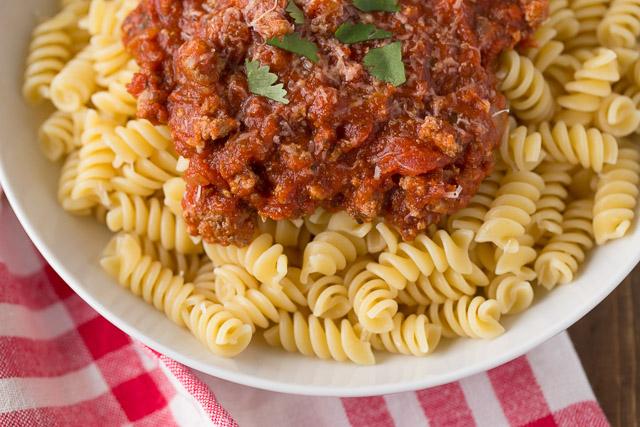 Slow Cooker / Instant Pot Turkey Bolognese Recipe