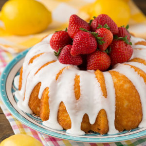 Healthy Lemon Bundt Cake