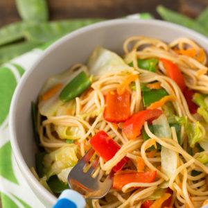 Veggie Stuffed Chow Mein