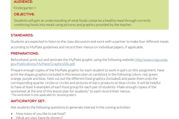 Updated Lesson Plan Page 1