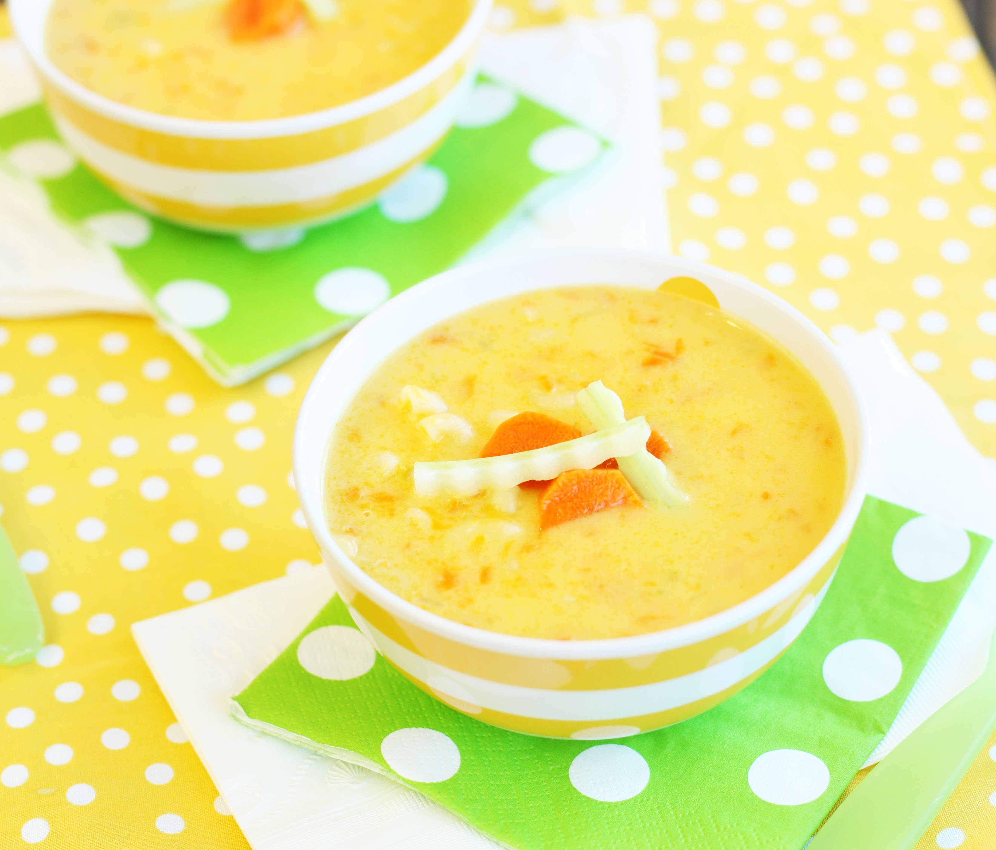 Hidden Veggie Mac and Cheese Soup Recipe | Healthy Ideas ...