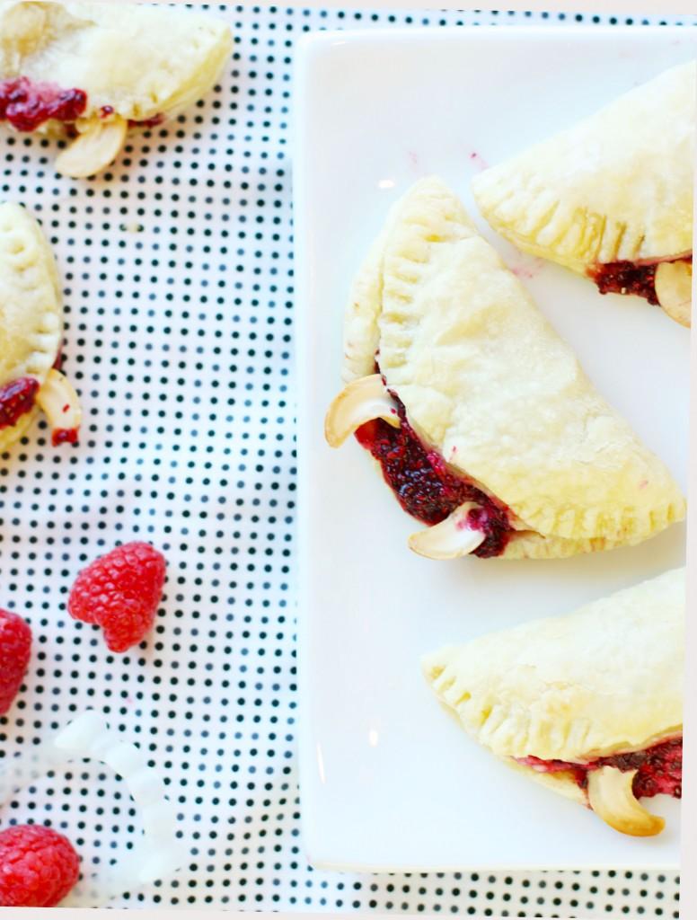 Raspberry Chia Vampire Bites. Make your Halloween memorable with this festive treat!