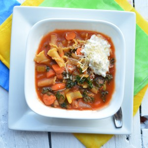 Lasagna Vegetable Soup Recipe