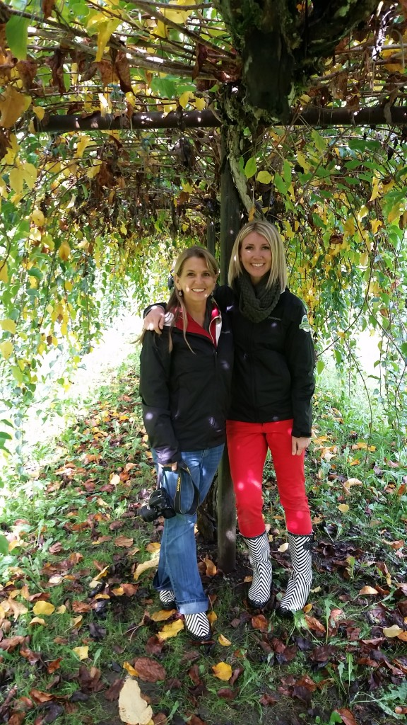 natalie and amy at Cascadian farms