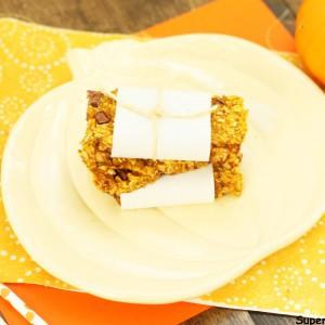 Chewy Baked Pumpkin Breakfast Bar Recipe