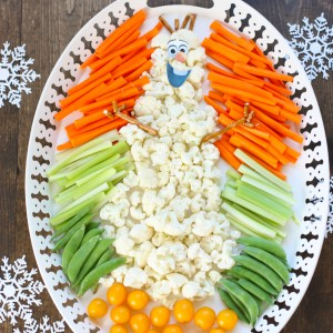 Frozen Party Veggie Tray