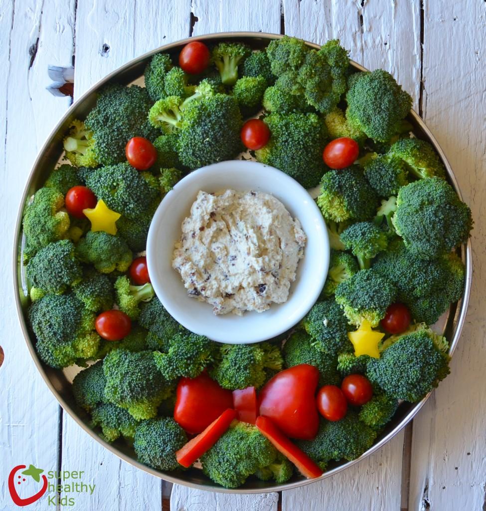 holiday veggie tray