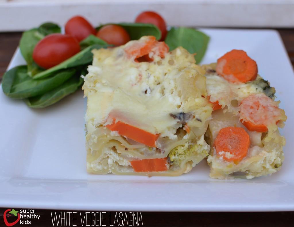 white veggie lasagna from super healthy kids