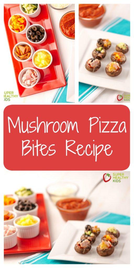 Mushroom Pizza Bites Recipe