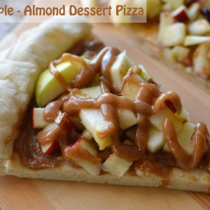 Apple Almond Dessert Pizza Recipe