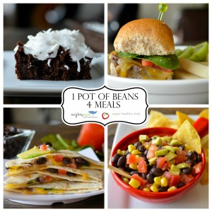 4 Meals from 1 Pot of Beans
